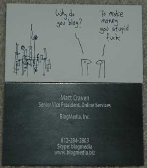Matt's Business Card