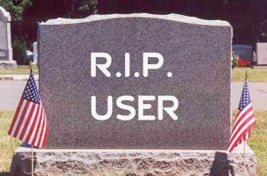 Death Of The User
