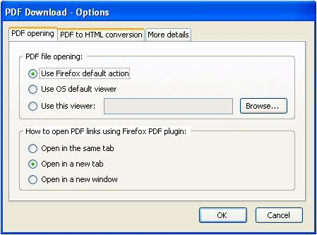 PDF Firefox Extensions