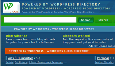 Powered by WordPress Directory
