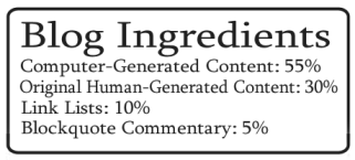 Example of future blog ingredients label