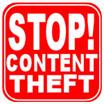 Stop Content Theft Badge