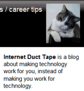 Engtech - Internet Duct Tape blog description