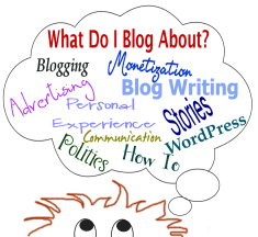 Graphic - Copyright by Lorelle VanFossen - What do I blog about when asked to guest blog
