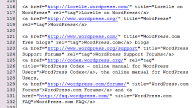 Example of using NoteTab to save redundant and often referred to link lists
