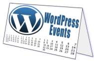 WordPress Event Calendar badge