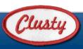 Clusty logo