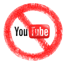 graphic representation of YouTube banned access copyright Lorelle VanFossen