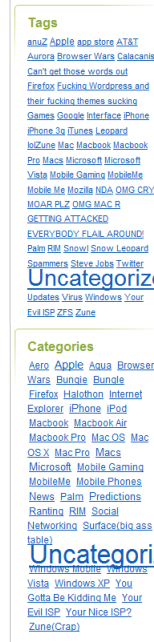 WTF Blog Clutter: Are You Ignoring Your Uncategorized Category?
