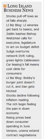 WTF Blog Design Clutter: Incoming Feed Clutter