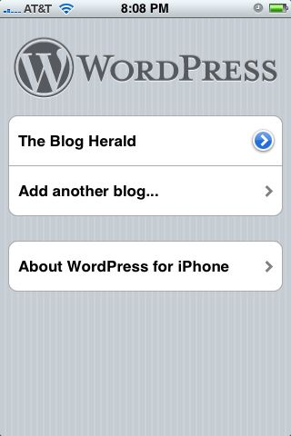 What I Love And Hate About The WordPress iPhone App