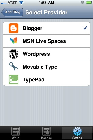 Blogger.com And SixApart Take Note: BlogPress Is About To Steal Your iThunder