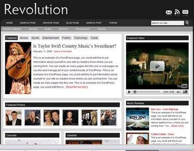 Brian Gardner Launches Revolution Two Open-Source WordPress Theme