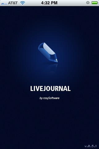 Game Changer: LiveJournal.app Raises The Bar (For iPhone Blogging)