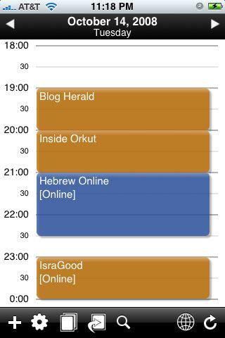 Must Have Blogger iPhone App: SaiSuke (For Google Calendar)