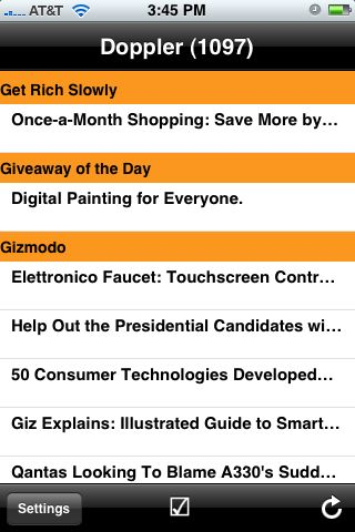 Byline 2.0: The iPhone App For Google Reader Freaks