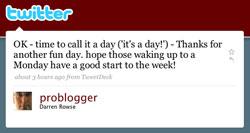 Darren Rowse on Twitter