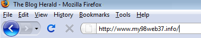 A bad URL name example