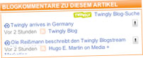 German Business Newspaper Invites the Blogosphere, Using Twingly
