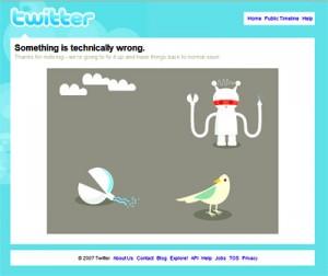 twitter is broken alert