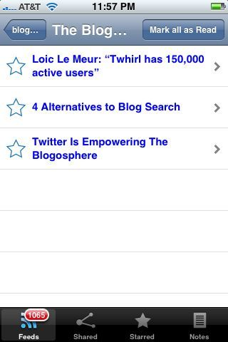 Gazette Vs Byline (Battle Of The Google Reader iPhone Apps)