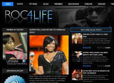 Rocawear gets into social networking with Roc4Life.com