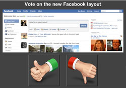 Vote App Lets Facebook Users Express Their Outrage