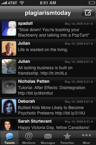 Twitterrific vs. Tweetie: Twitter on the iPhone