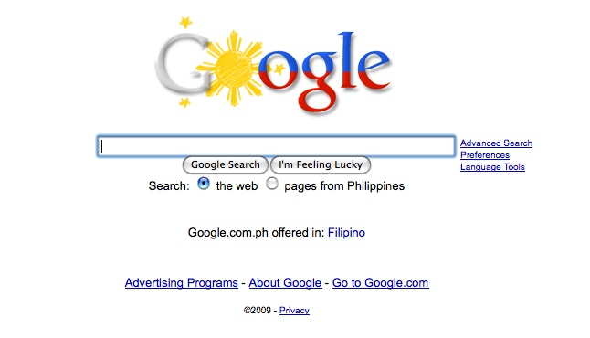 Google Philippines: Happy Independence Day