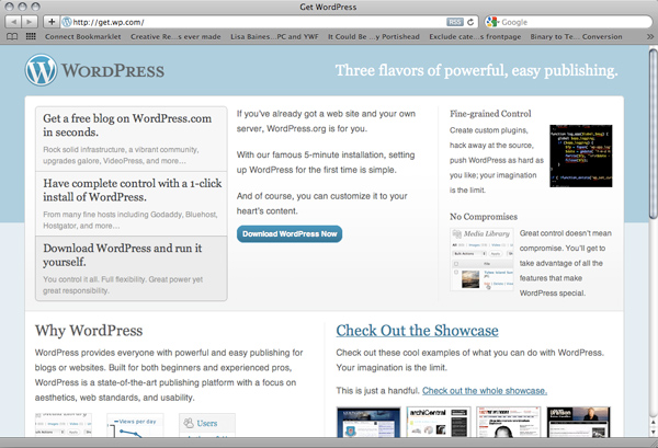 Get.WP.com, New Campaign Site for WordPress?
