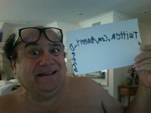 Danny Devito joins Twitter