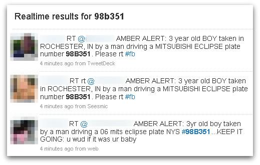 Hoax AMBER missing child alert swamps Twitter