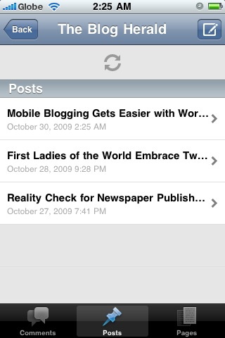 Mobile Blogging Gets Easier with WordPress 2.0 for iPhone