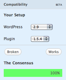 WordPress.org Adds Crowdsourced Compatibility Check