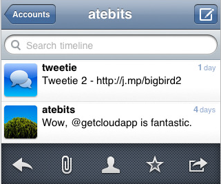 Tweetie 2.1 iPhone App Adds Retweet, Lists and GeoLocation Features