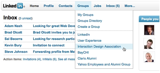 LinkedIn Preps Up New Site Design