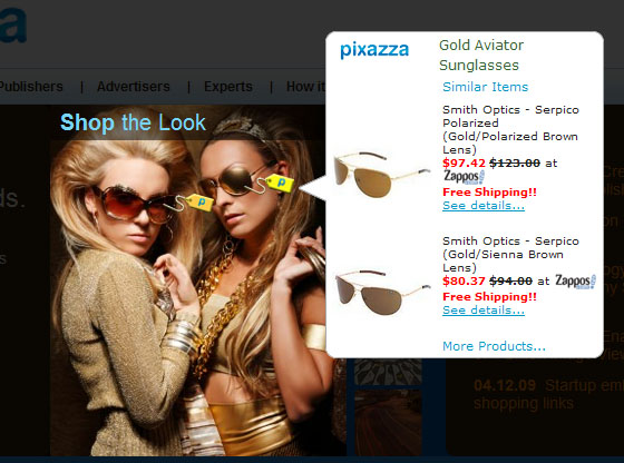 Pixazza is Like Google AdSense for Blog Images