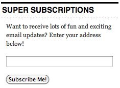 WordPress.com Rolls Out Blog Subscription Widget