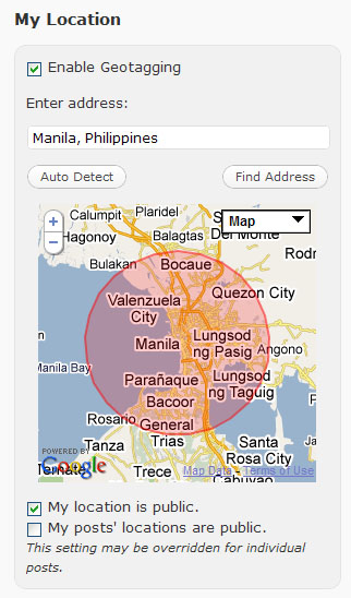 WordPress.com Rolls Out GeoTagging Feature
