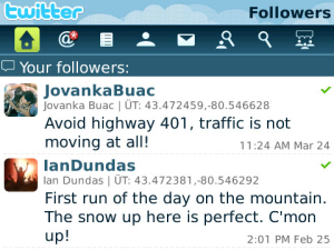 Blackberry Releases Twitter App In The Wild (Still In Beta)