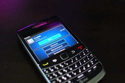Blackberry Approves Official Tumblr App (A Month Late)