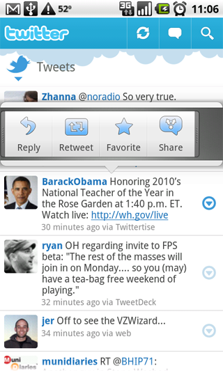 It's Alive! Twitter Launches Android App (Plus: Is Palm Pre Next?)