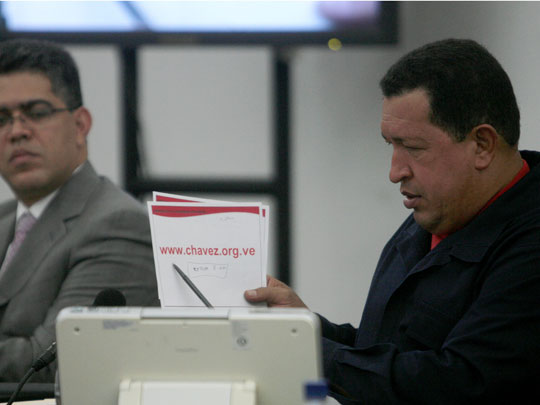 Good News: Hugo Chavez Hearts WordPress