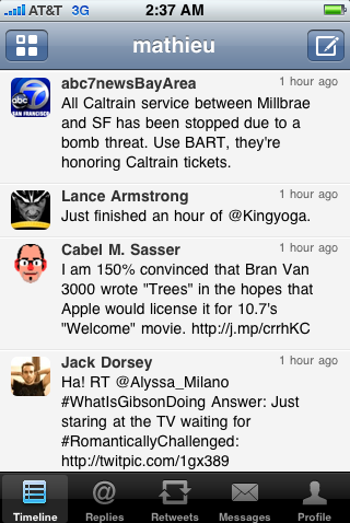 Watch Out Tweetdeck! Seesmic For iPhone Is Here