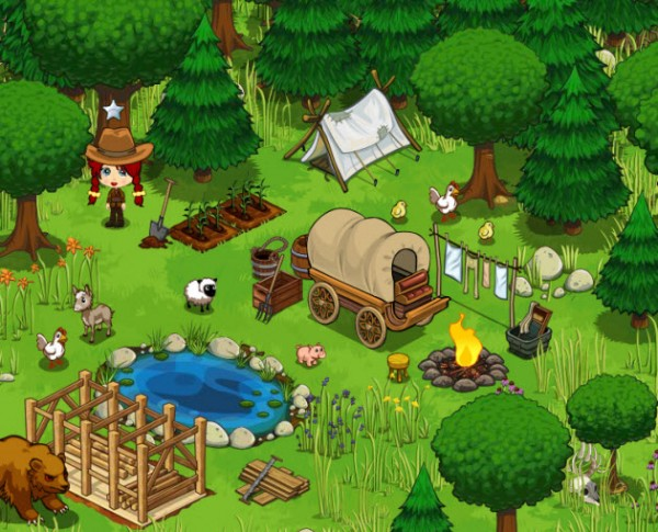 frontierville screenshot