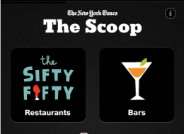 "New York Times Enters Location Based Services Game With ""The Scoop"""