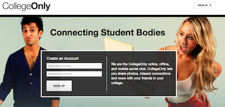 CollegeOnly Picks Up Where Facebook Left Off