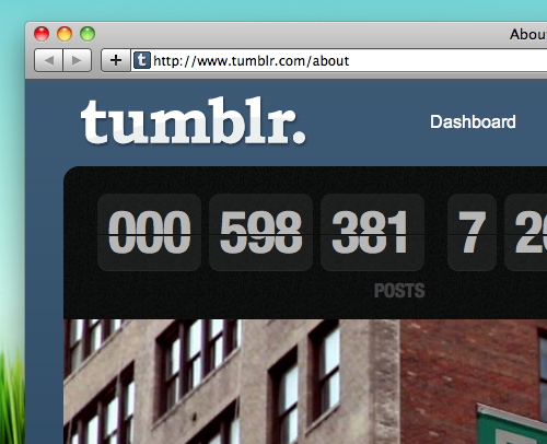 Tumblr Tops A Billion Posts