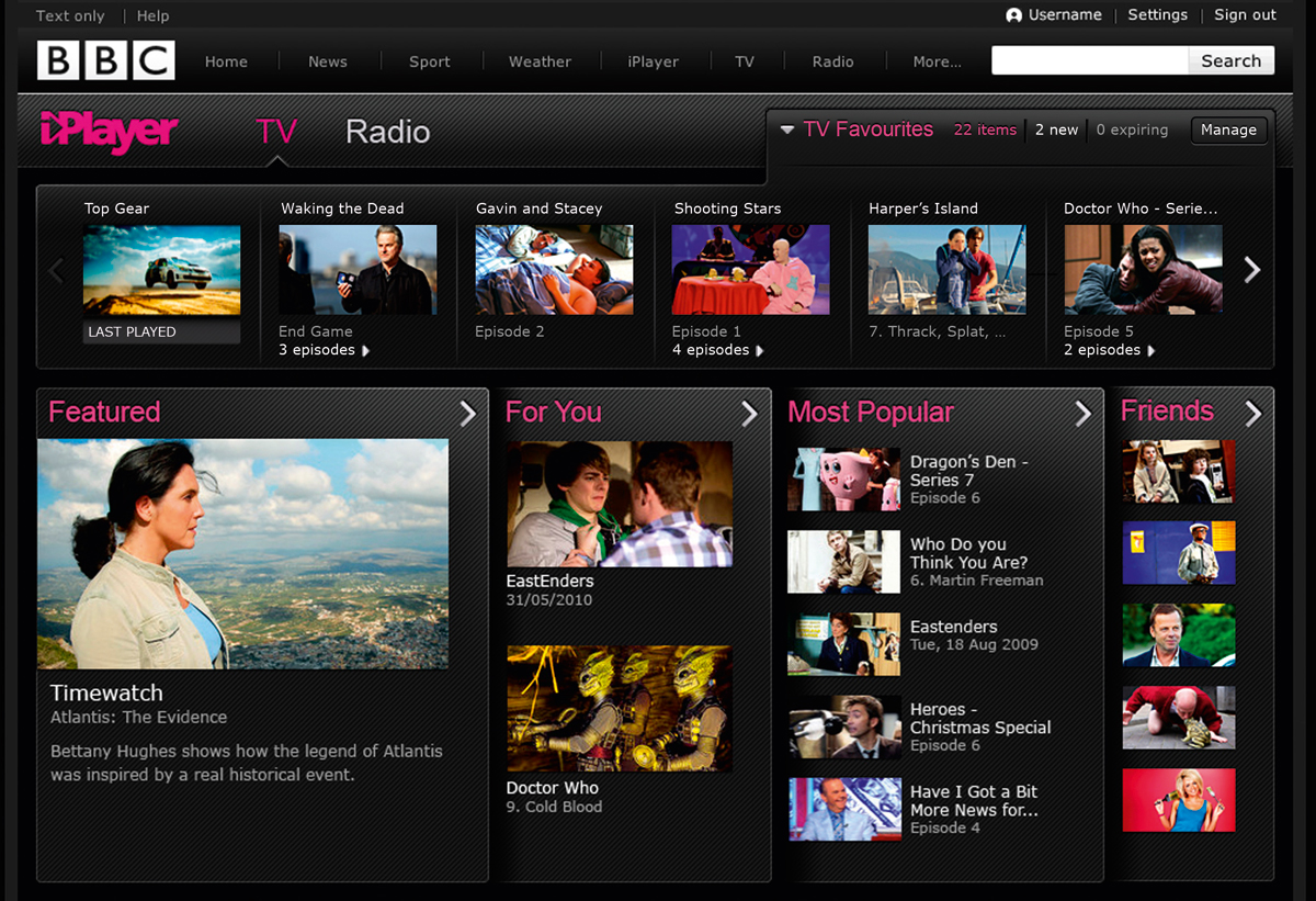 BBC Weds iPlayer and Social Media