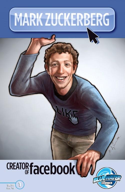 Mark Zuckerberg Comic Book Debuting In 2010